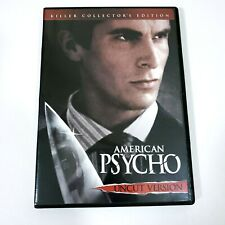 American Psycho Killer Collectors Edition Dvd Uncut 2005 Christian Bale Dafoe