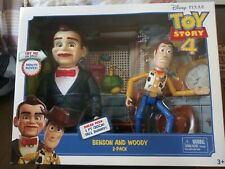 DISNEY TOY STORY 4 Movie Benson & Woody 2-Pack Action Figures Poseable NIB