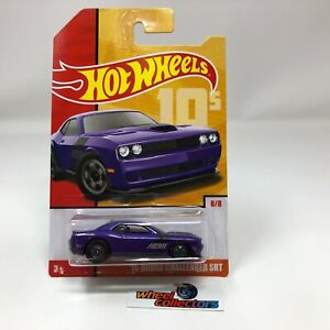 '15 Dodge Challenger SRT * PURPLE * Hot Wheels Throwback Decades Target * WA10