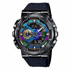 Casio G-shock Analog-digital Gunmetal Multi-color Dial Men's Watch Gm110b-1a