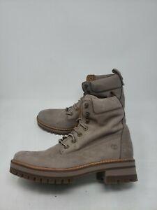 "TIMBERLAND Women's Courmayeur Valley 6"" Boot A1RQX Grey size 10 W909"