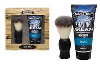 Close Shave Shaving Brush Technic Man's Stuff Gift