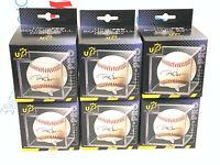 (6) ULTRA PRO BASEBALL CUBE, UV PROTECTED baseball display case clear NEW