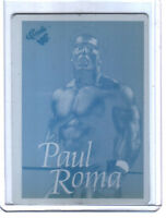 WWE Paul Roma 1990 Classic Printing Plate Card WWF B