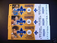New Orleans Hornets 2012-13 NBA ticket stubs - One ticket