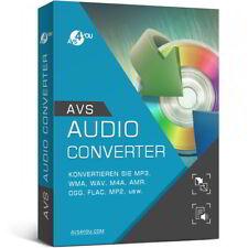AVS Audio Converter 8.4 deutsche Vollversion lifetime Download 34,99 statt 58,99