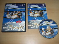 DHC-2 BEAVER X Pc Cd Rom Add-On Flight Simulator Sim X & 2004 FS2004 FSX FS