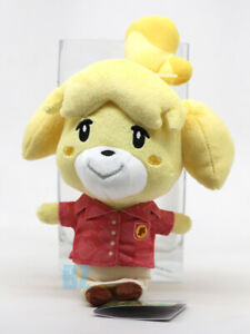 "GENUINE Animal Crossing New Horizons Isabelle Shizue Plush 8"" Little Buddy 1792"
