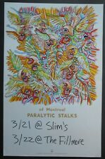 Original Of Montreal Promo / Concert Poster Slims Fillmore San Francisco