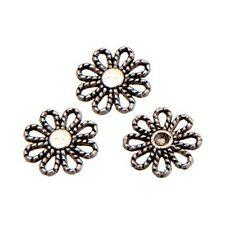 20 Perles connecteur Entre-deux _ FLEUR 13x2,5mm _ Apprêts création bijoux _A118
