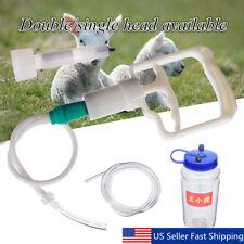 Portable 2L 1/2GAL Hand Barrel Milking Machine Goat Sheep Vacuum Pump Bucket Set