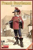 MODEL KIT MIN16011_D - Miniart 1:16 - French Guardsman XVIIc