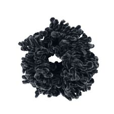 Volumising Velvet Scrunchie Plain Big Hair Tie Bun Clip Hijab Volumizer Scarf Ne
