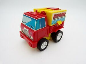 Vintage 80's Nomura Japan Mighty Mo Friction Express Fire Truck Ideal Toys