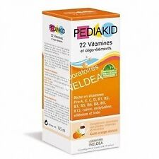 PEDIAKID Syrup 22 Vitamins and Trace Elements 125 Ml