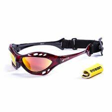 Ocean Glasses Sunglasses Cumbuco red frames w/polarized Revo lens New