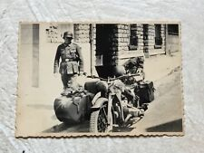 KGB SEIZED German MOTORCYCLE archive stamped signed SS castle Wewesburg LOT RARE