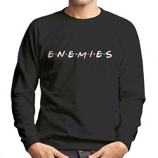 Friends Enemies Men's Sweatshirt
