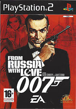 FROM RUSSIA WITH LOVE for Playstation 2 PS2 - with box & manual - PAL