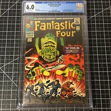 Fantastic Four #49 (1966) CGC 6.0 FN 2nd Silver Surfer and 1st Full Galactus