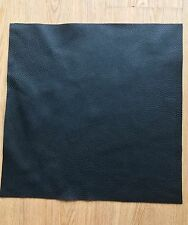 """1.5 mm thick Black Leather pieces Full grain Soft Cowhide various sizes 12""""x20"""""""
