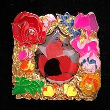 LE Queen of Hearts Alice In Wonderland Flower Frame Disney Store 3 Park Pack Pin