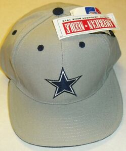 Dallas Cowboys Original Vintage American Needle 90s Gray Snapback hat New Nfl