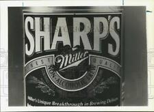 1990 Press Photo Sharp's Non-Alcoholic Beer - sya30479