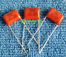 100PCS CBB 103J 630V 0.01uF 10nF P=10MM Metallized Film Capacitor