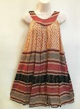 RETRO Hippie Bohemian Gypsy Ethnic Indian Festival Jaipuri Block Print Dress F