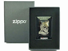 Zippo Golden Dragon Head 3D Limited Edition Chinesischer Drache Ebony, limitiert