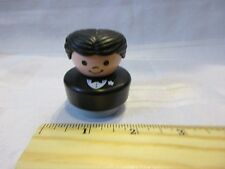 Fisher Price Little People Wedding Cake topper Marriage Groom boy man Tux flower