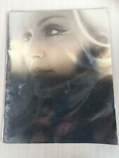 tour program Concert book 2001 Madonna DROWNED WORLD TOUR with tickets & confett