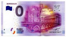 Billet Touristique - 0 Euro - France - Bordeaux - (2016-1)