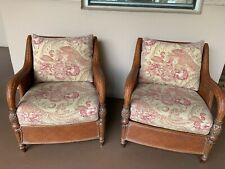 **DIY PROJECT**Pair of Ethan Allen British Classics Palma Chairs