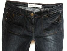 Indigo, Dark Wash Boyfriend Jeans Women's Mid NEXT