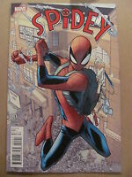 Spidey #1 Marvel Comics 2015 Series Hemberto Ramos 1:25 Variant 9.6 Near Mint+