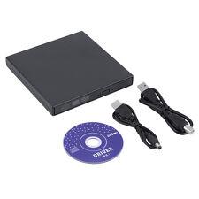 EXTERNES LAUFWERK CD &DVD BRENNER FÜR WINDOWS 7 8 10 SLIM USB2.0 LAUFWERK g-5