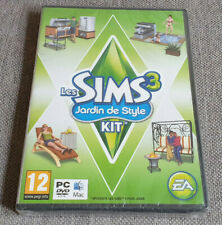 PC Game The Sims 3 Outdoor Living Expansion Pack French Ver Eng Game Damaged New