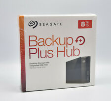 SEAGATE 8 TB Backup Plus HUB Desk, STEL8000200 Externe Festplatte, 3.5 Zoll NEU
