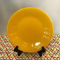Fiestaware Daffodil Lunch Plate Fiesta Yellow 9 inch Luncheon Plate