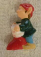 Hallmark 1989 Merry Miniatures - Baby's First Christmas Elf - New