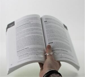 Clear Acrylic Page Holder - Thumb Reader - Book Reading Aide - School - Homework