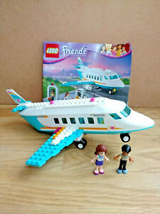 LEGO Friends Private Jet / Airplane 41100 - NOT Complete - 2 Minifigures