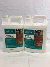 Valspar Outdoor Wood Cleaner Decks, Fences, Furniture 128 oz - LOT OF 2