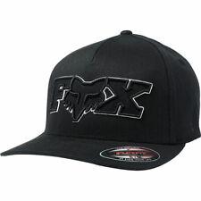 Fox Racing Men's Ellipsoid Flexfit Hat Black Headwear Baseball Cap