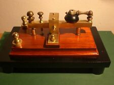 tasto telegrafico telegrafo morse code key telegraph cw telegrafia telegraphy