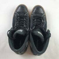 Converse Chuck Taylor All Star Mens Street Mid Sneakers Black Lace Up Shoes 9.5