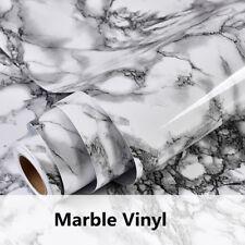 Stick Marble Vinyl Instant Counter Top Wallpaper Granite film Decor for Kitchen