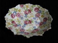 Scarce Royal Stafford June Roses Chintz Small Bowl or Trinket Dish * Vintage